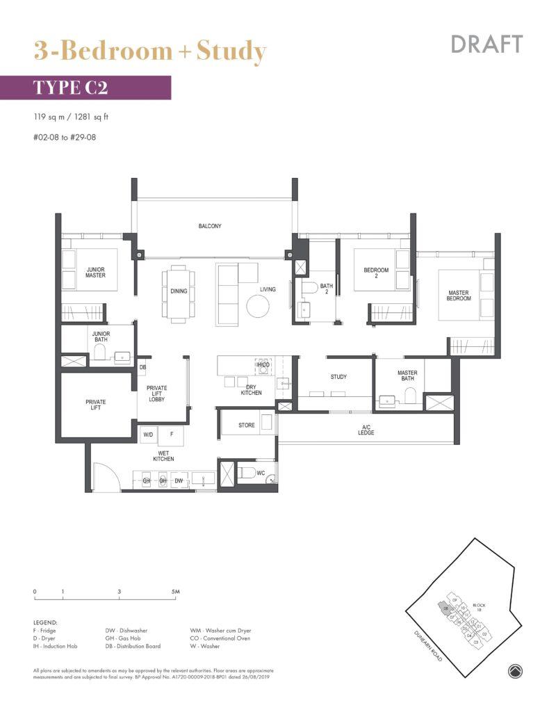 pullman-residences-3+study